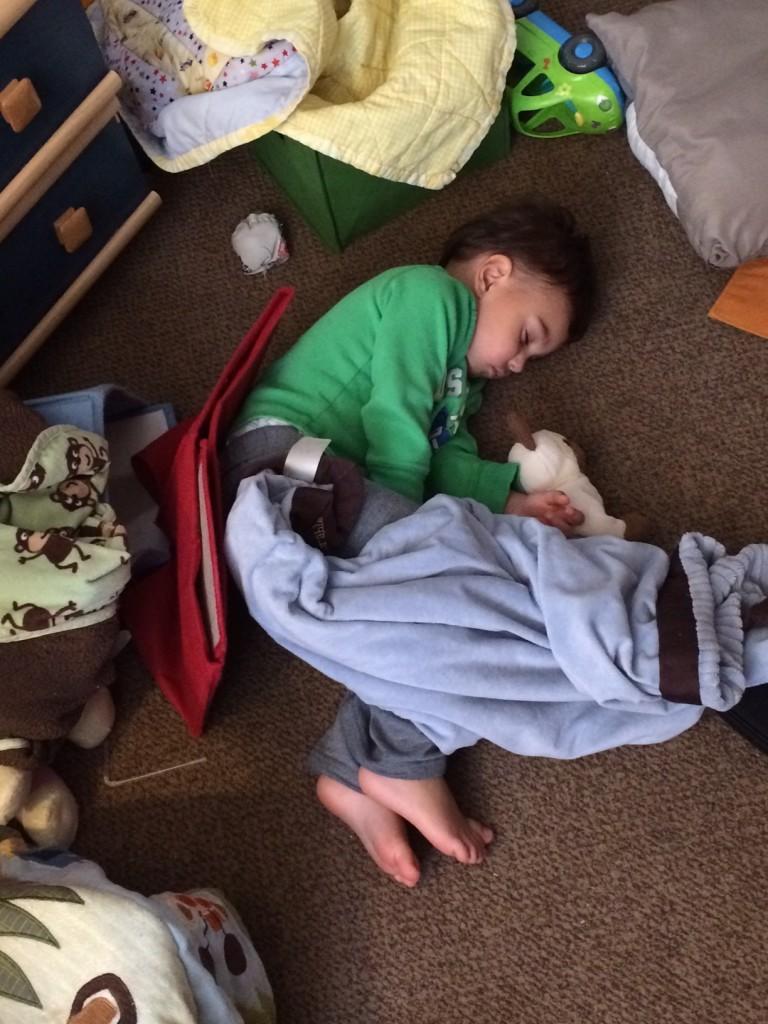 floor sleep