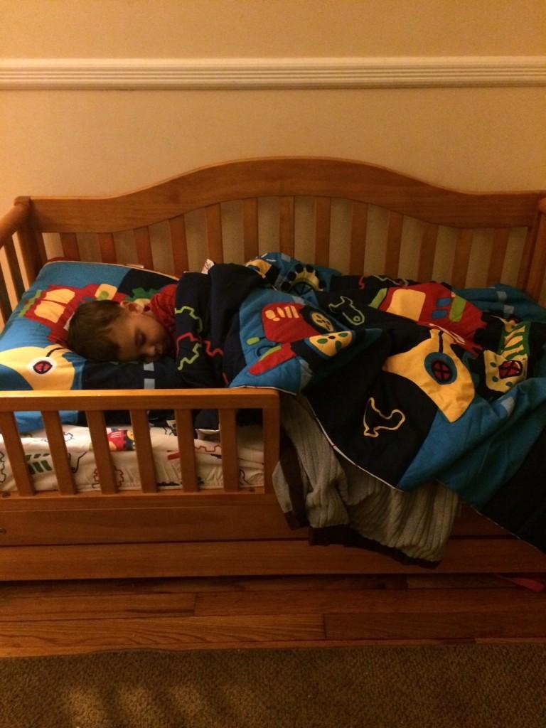 toddler bed sleep