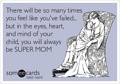 mom guilt card