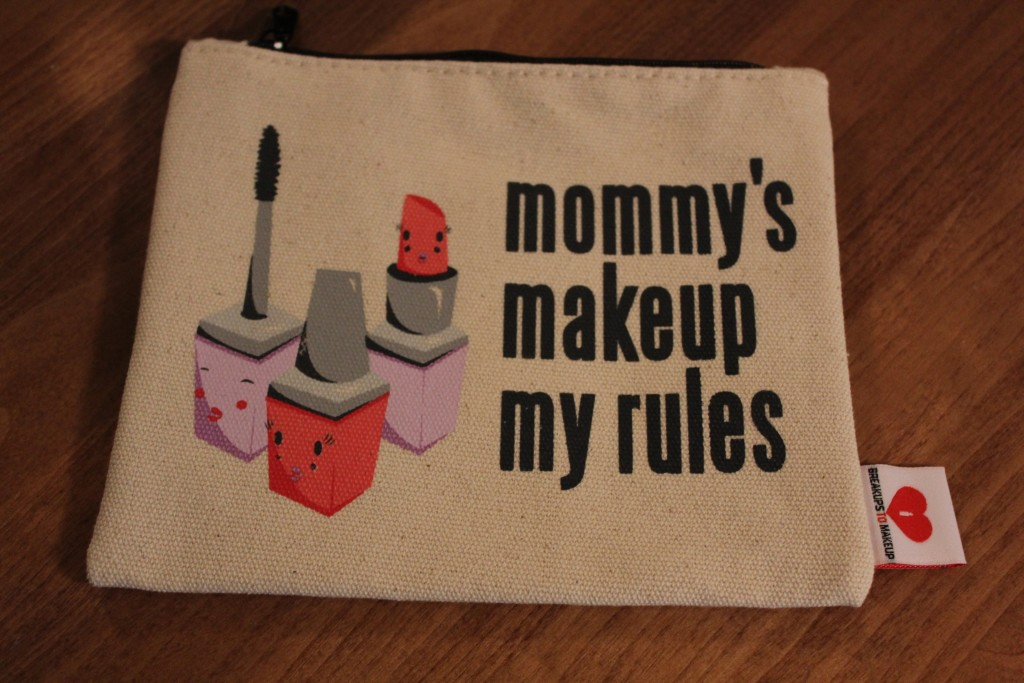 mom makeup bag