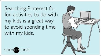 Pinterest Search card