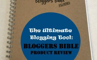 Fantastic Finds- Bloggers Bible