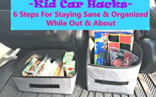 Car Control- Keeping Kids Occupied When Out & About